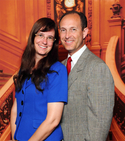 Pastor Antonucci with his wife, Lisa